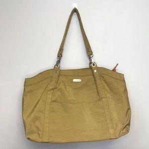 Baggallini | NWOT Nylon Shoulder Bag Beige